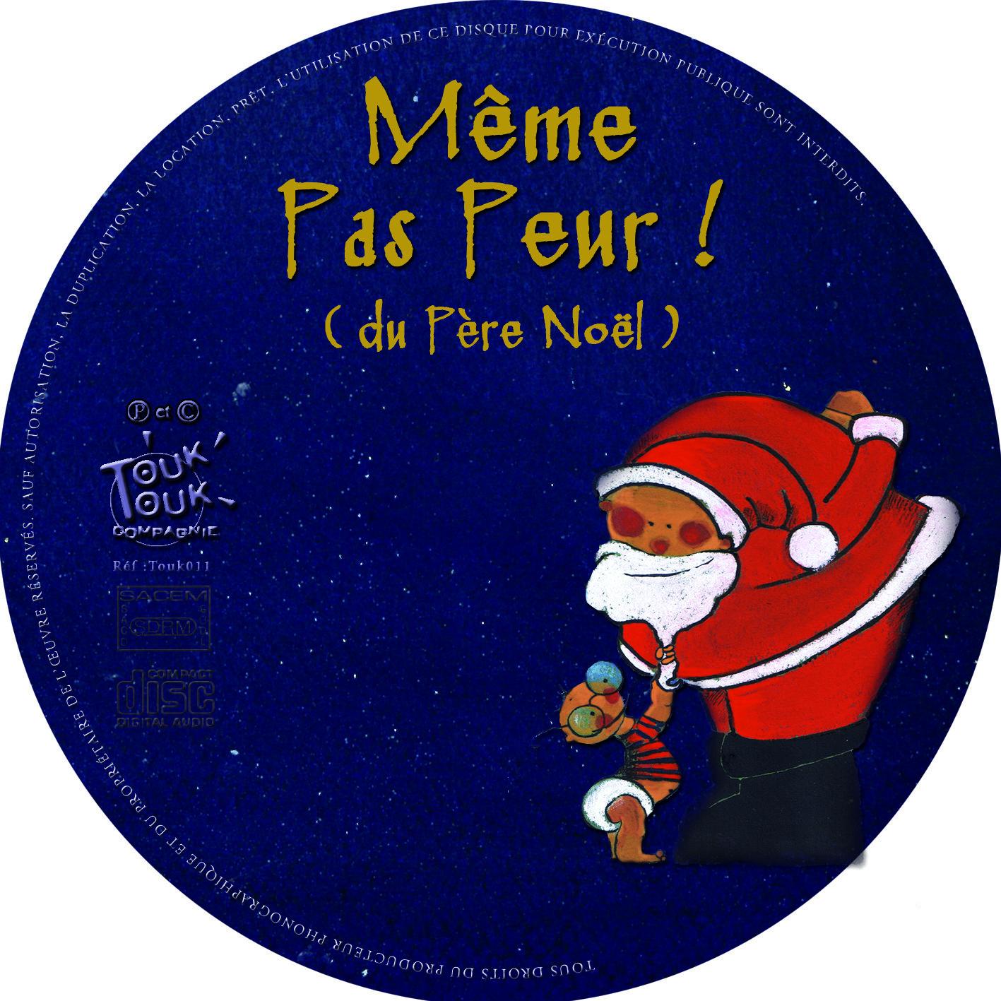 CD même pas peur du père Noel 00000