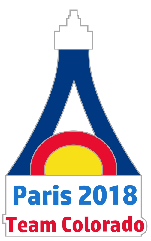 Team CO Paris 2018 Pin 00006