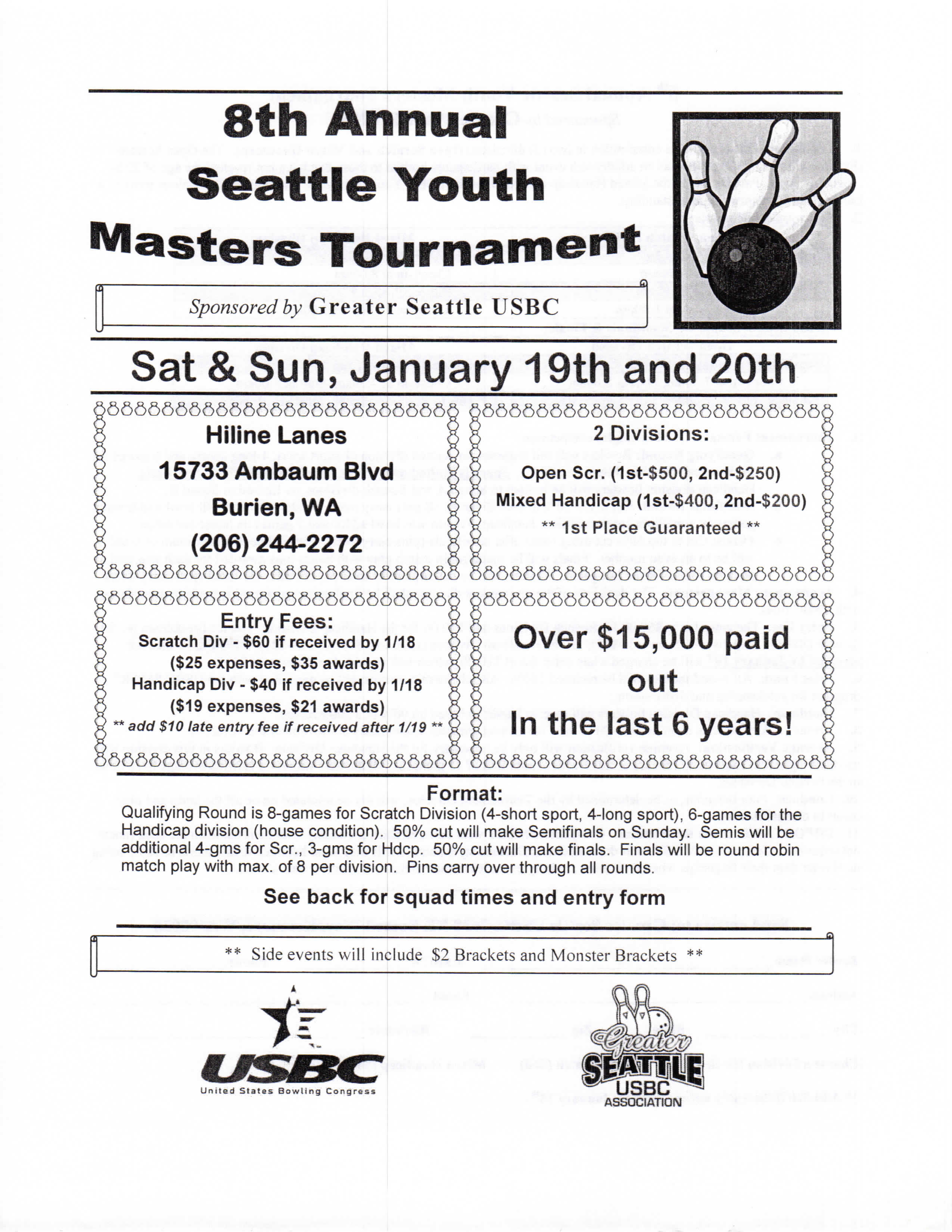 Seattle Youth Masters Tournament