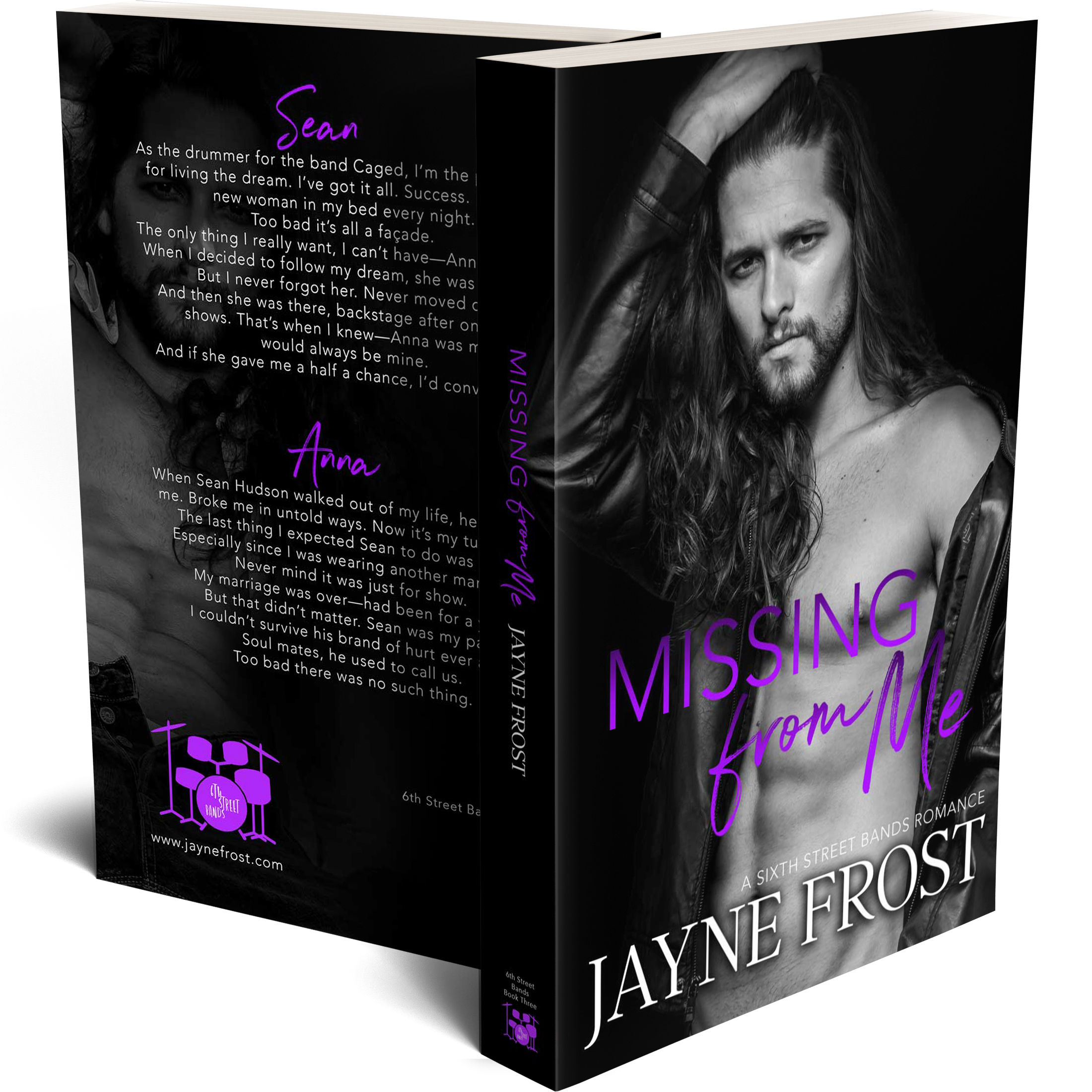 Missing From Me Signed Paperback 00003