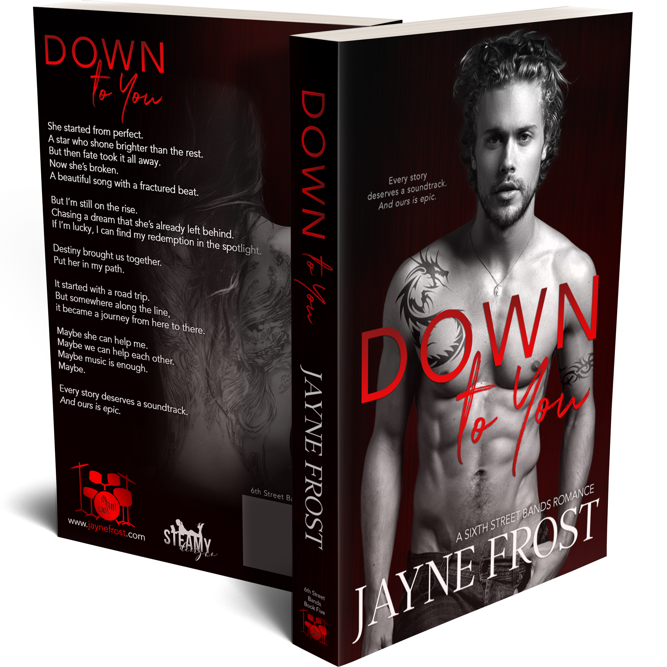 Down To You Signed Paperback 00005