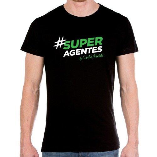 Camiseta hombre # SUPERAGENTES 00003