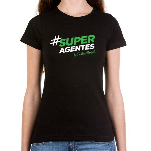 Camiseta Mujer #SUPERAGENTES 00004
