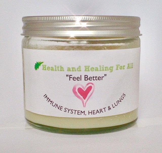"""""""Feel Better"""" - Immune System, Heart & Lungs Body Balm 120ML ONLY feel-better-01"""