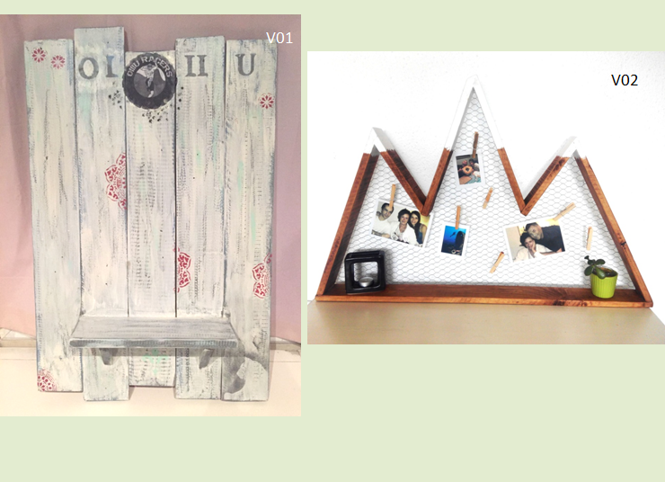 Tablero  portafotos, medallero V01-V02