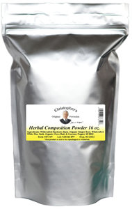 Herbal Composition Powder 16oz