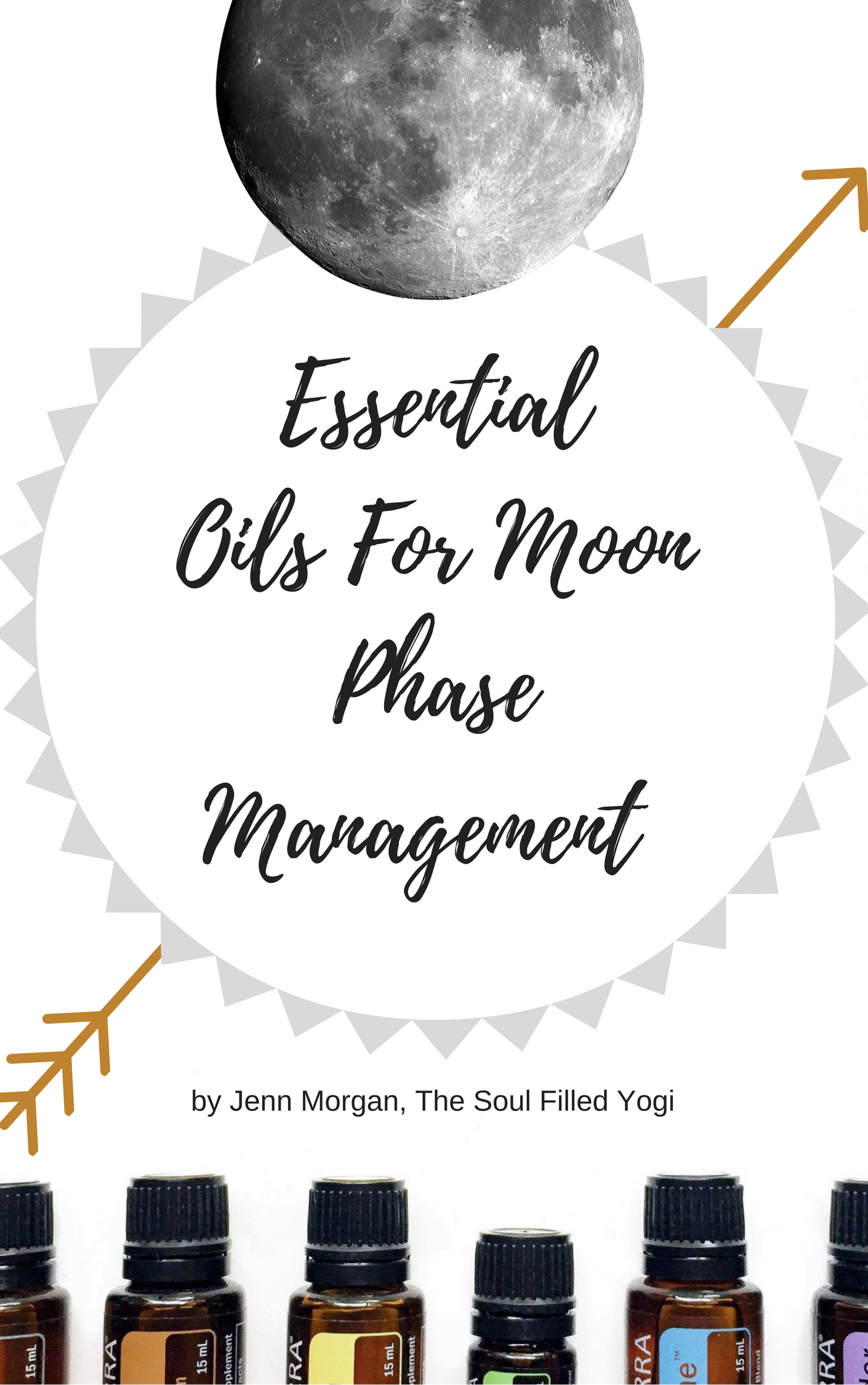 Essential Oils for Moon Phase Management E-Book (Instant Download) 00001