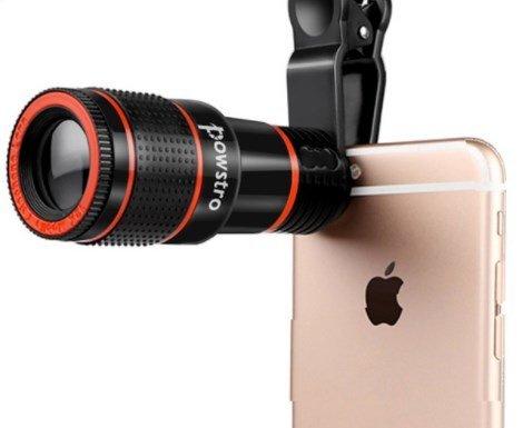 Hd mobile phone telephoto lens no dark corner zoom optical