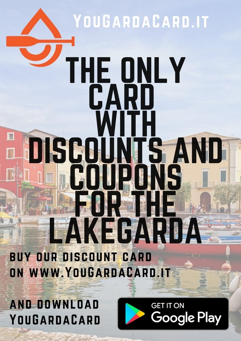 YouGardaCard - Discounts of 10% in many shops on Lake Garda YouEng