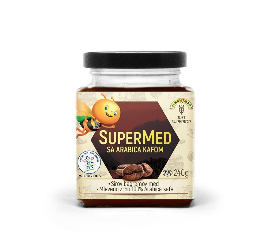 SuperMed sa Arabica kafom 00005