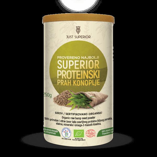 Superior proteinski prah konoplje - Just Superior 00007
