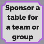 1 Table Sponsor