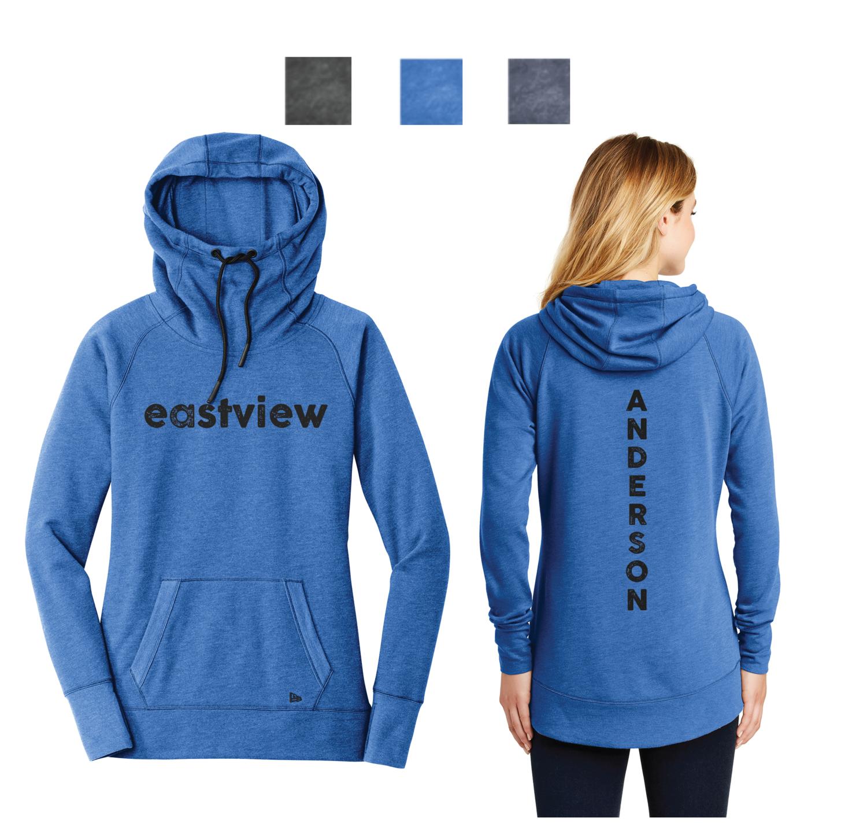 New Era® Ladies Tri-Blend Pullover Hoodie