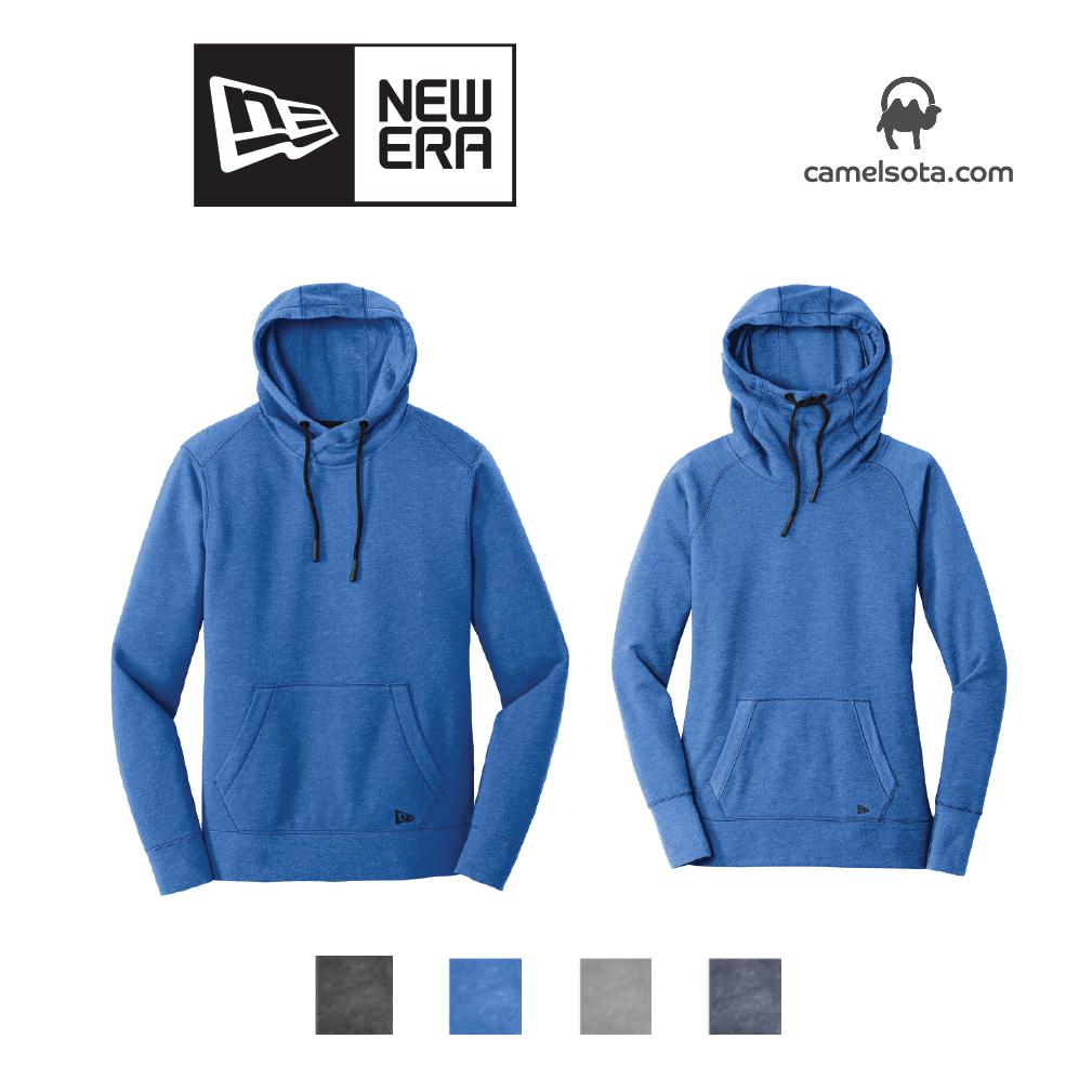 Custom New Era Tri Blend Pullover Hoodie