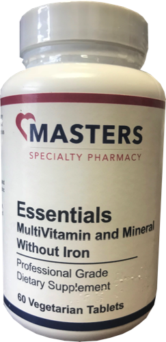 Essentials MultiVitamin & Mineral / No Iron 00001