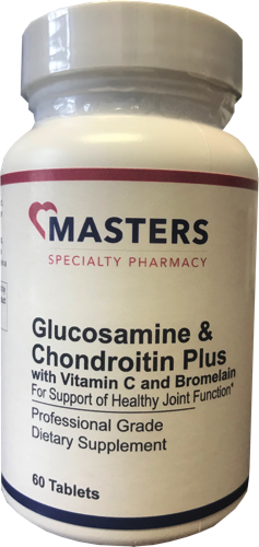 Glucosamine & Chondroitin Plus With Vitamin C and Bromelain 00002
