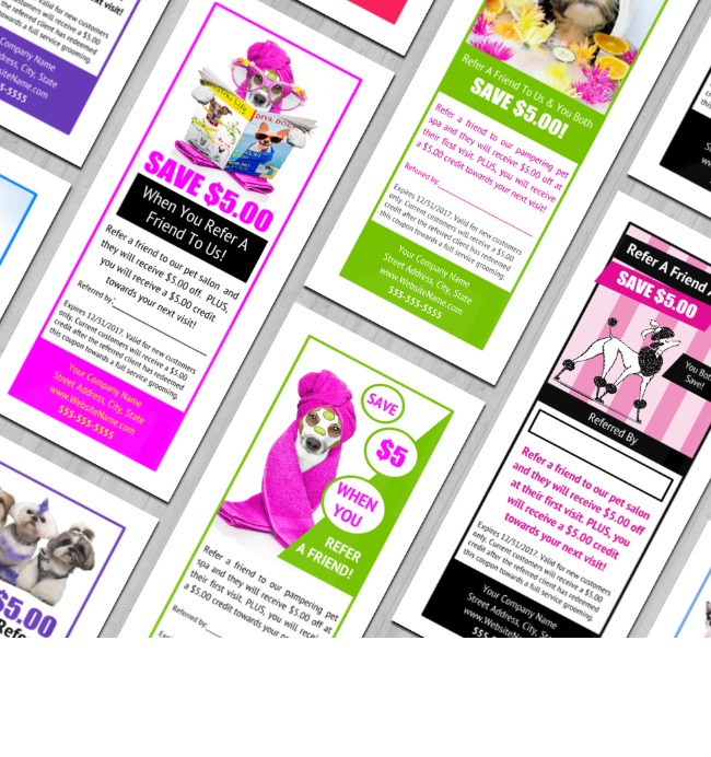 Customer Referral Coupon Templates