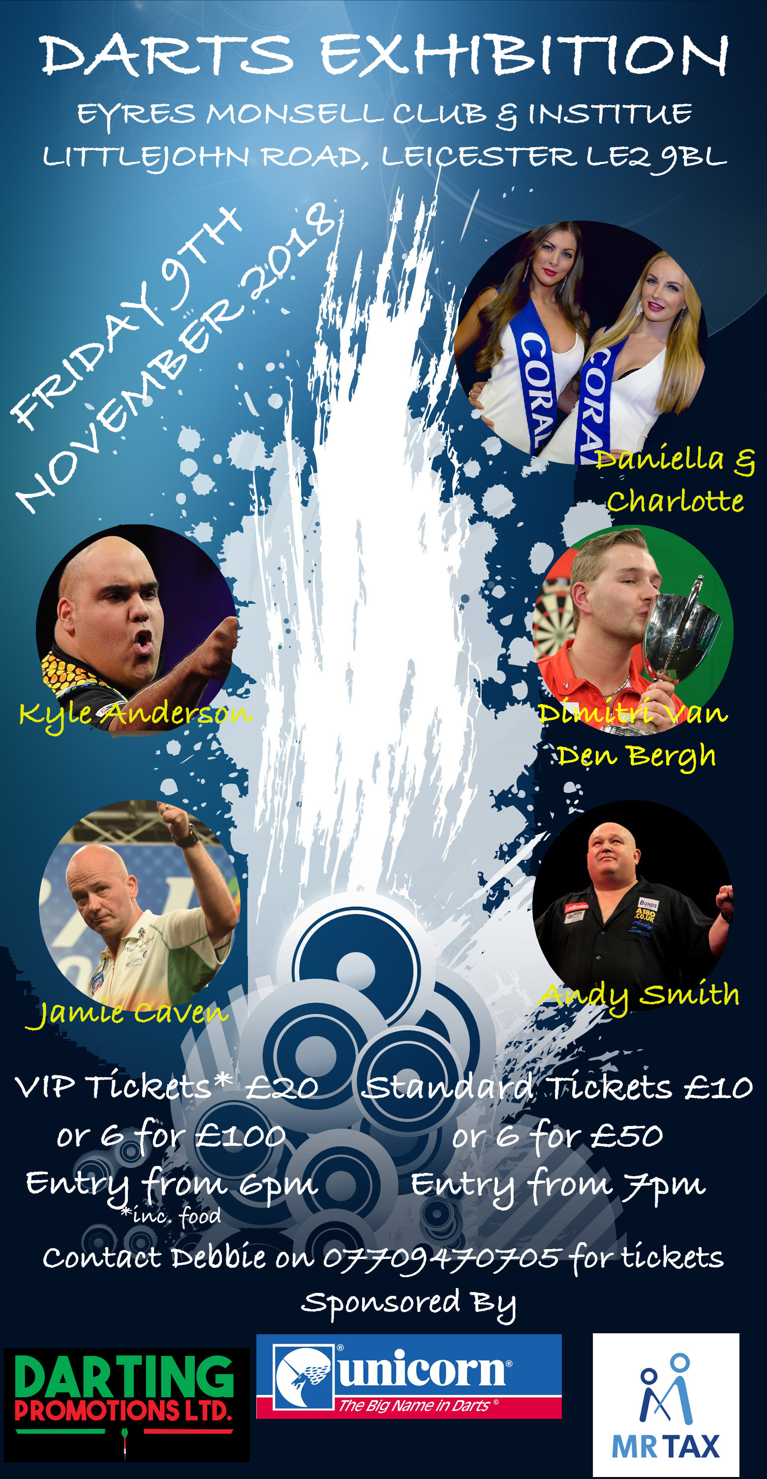 VIP - Darts Exhibition 9th November 2018 00009