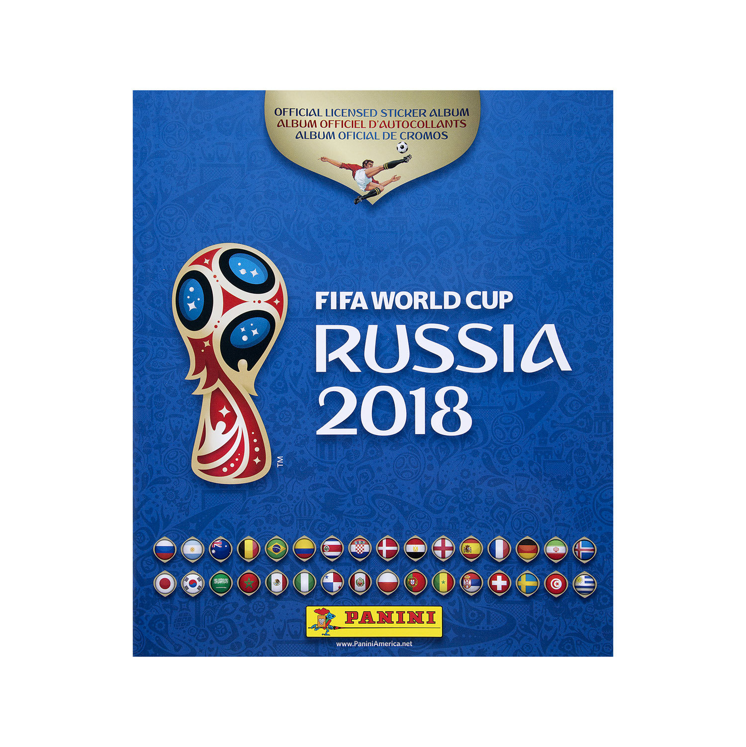 Panini World Cup Sticker Album 00004