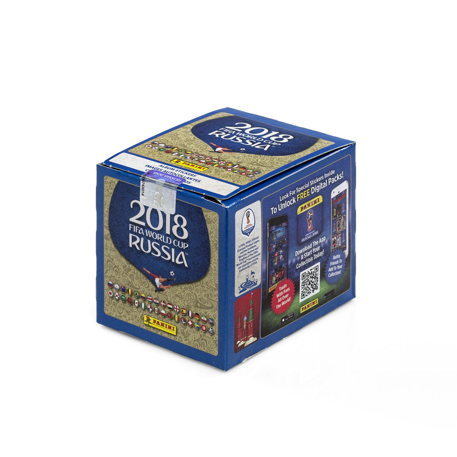 Panini World Cup Stickers 50-Pack Box 00007