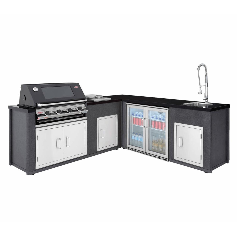 Artisan Outdoor Kitchen Module With S3000e 4 Burner Gas