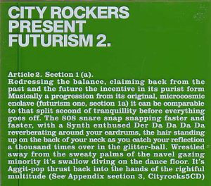 City Rockers Present Futurism 2 - (SOLD OUT) 00007