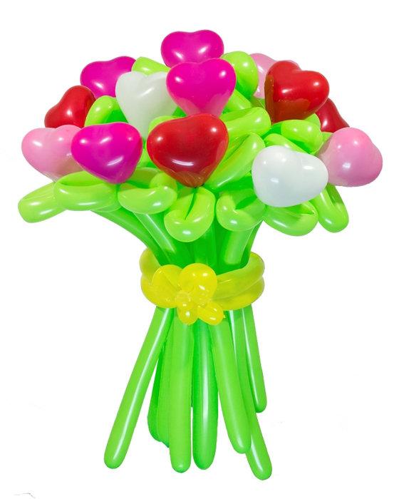 Картинка шарики из цветов