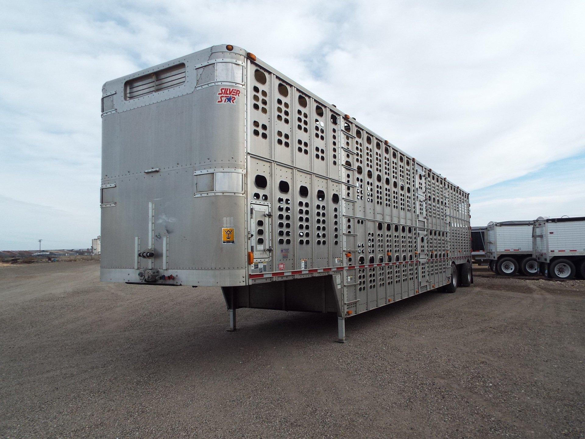 Used Livestock Trailers