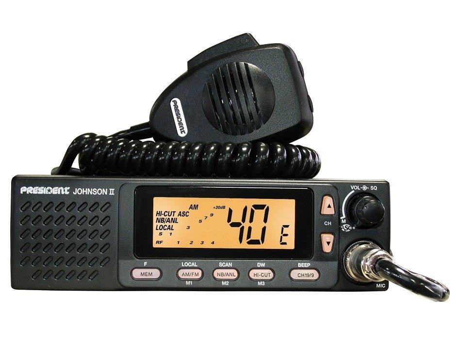 Радиостанция CB Johnson II ASC 00153