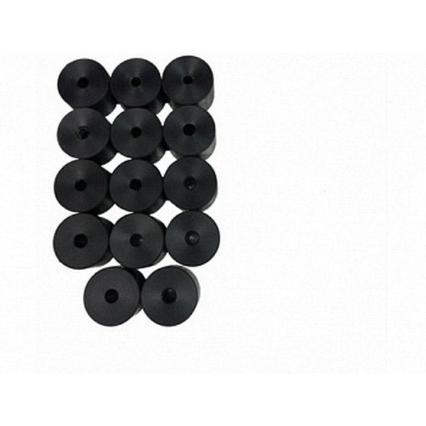 Боди лифт комплект 40 мм Mitsubishi L200 капролон (d=70 мм) с крепежом М10 чёрный цвет 00238
