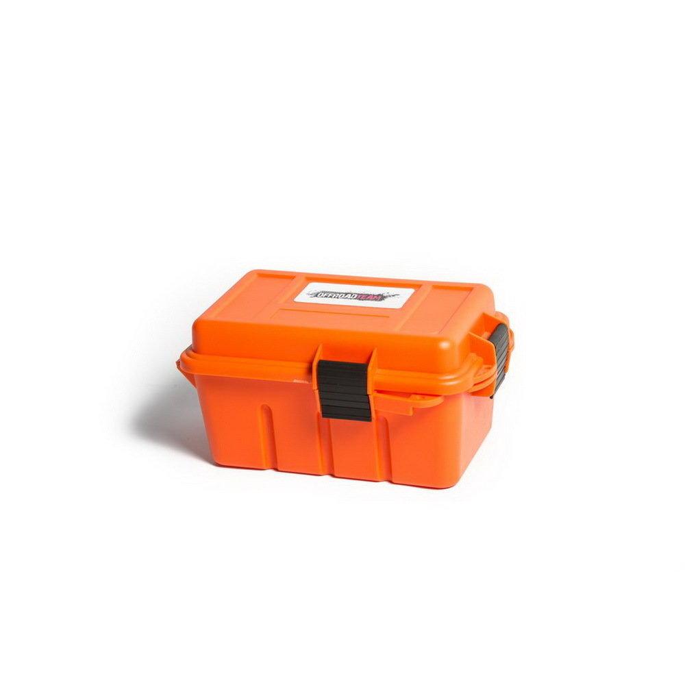 Герметичный ящик для мелочевки Offroadteam оранжевый, 220*135*120 мм 00594