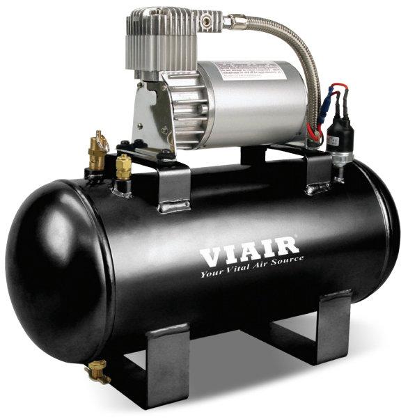 Пневмосистема в сборе VIAIR Fast-Fill 8,25 Атм 275C 5,7л 25% 00752