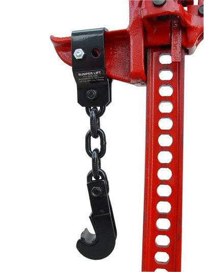 Устройство для подъёма автомобиля за бампер 01390