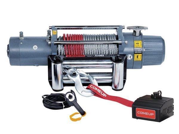 Лебедка электрическая автомобильная COMEUP DV-12 light (12в) 01642