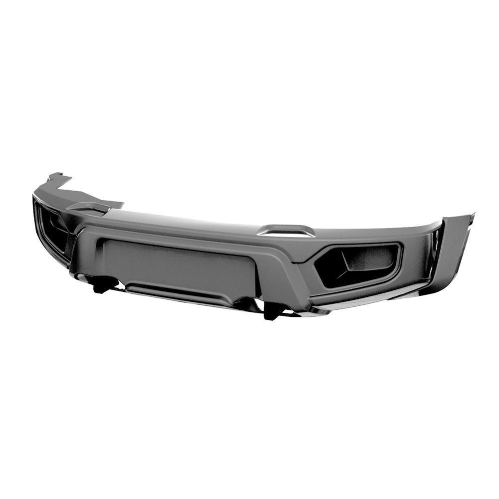 Бампер АВС-Дизайн передний UAZ Патриот/Пикап/Карго 2005- лифт (БАЗОВЫЙ, без оптики)загрунтован под покраску 01708