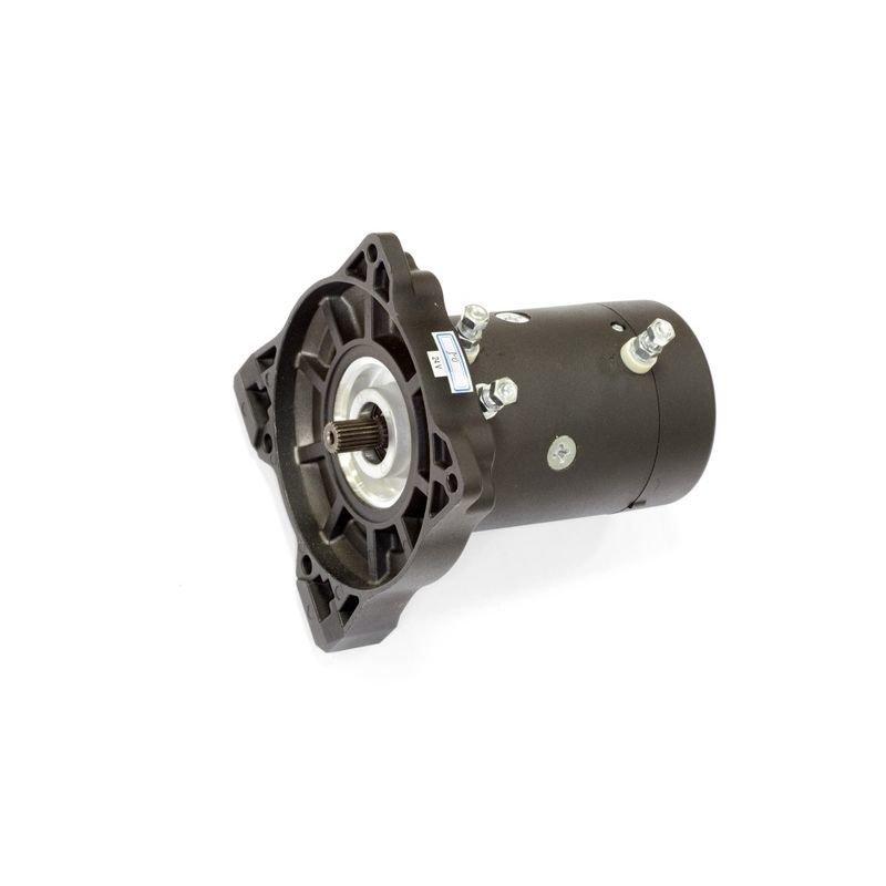 Запасной электромотор в сборе с боковиной для лебедки  СТОКРАТ HD 9.5 WP24 02098