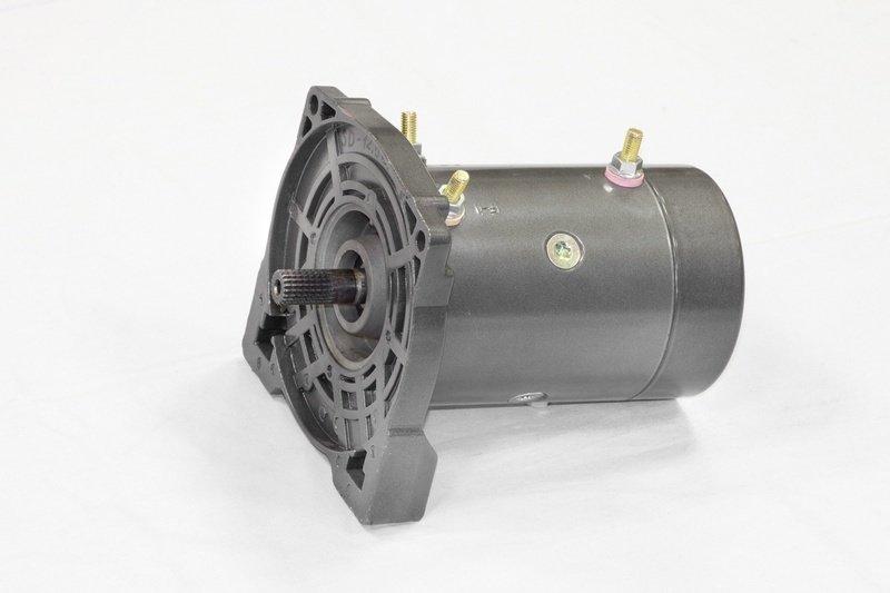 Запасной электромотор в сборе с боковиной для лебедки  СТОКРАТ SD 9.5 SW 02270