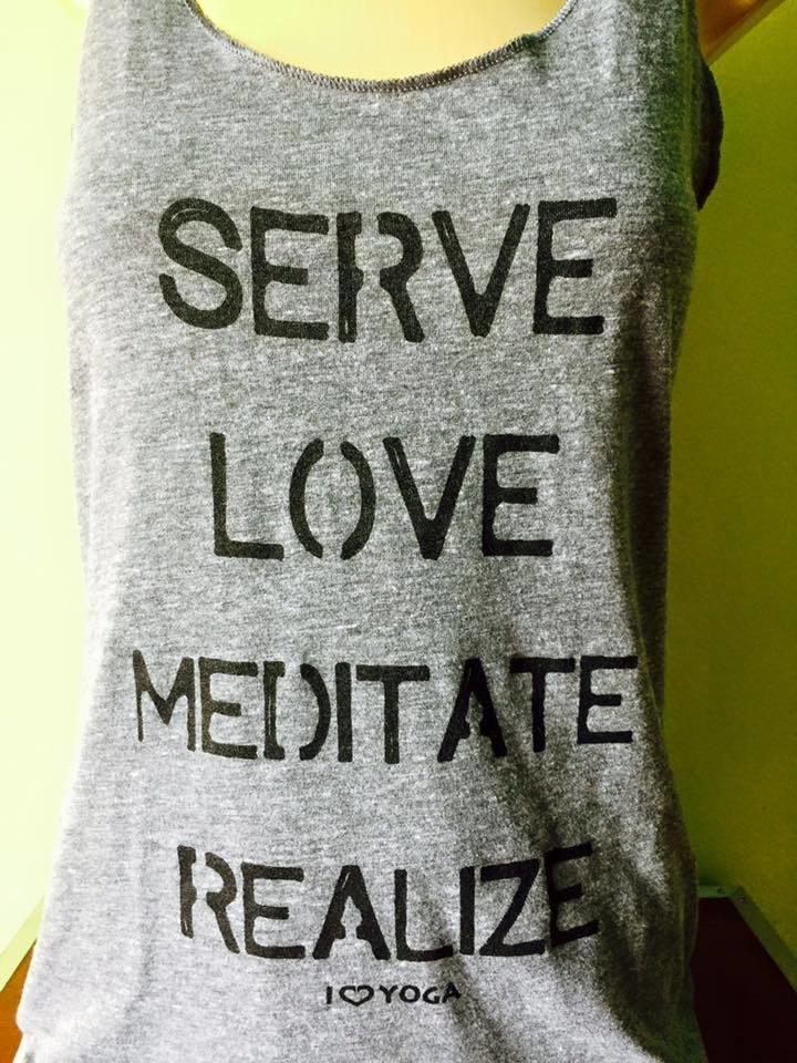 Serve Love Meditate Realize Tank Top 00001