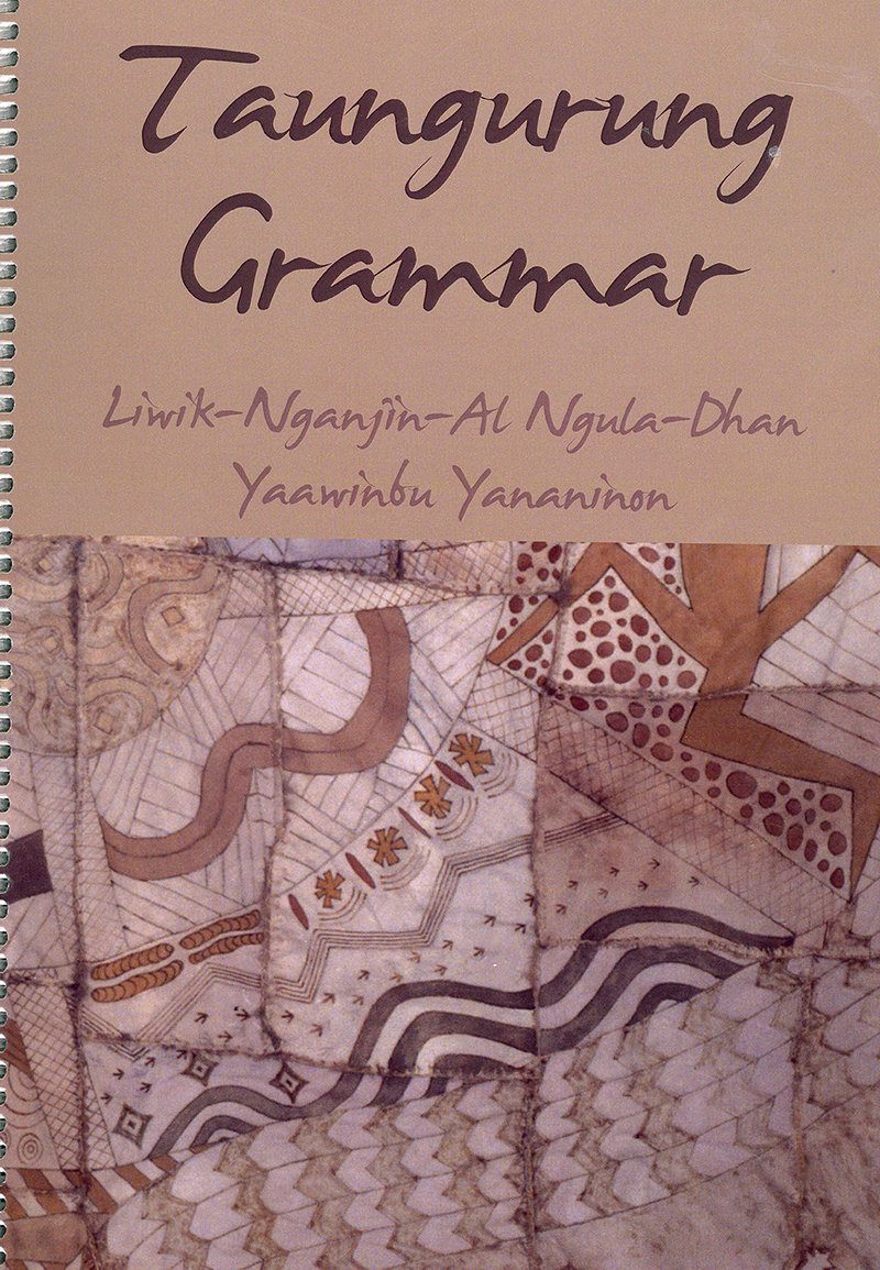 Taungurung Grammar - 00003