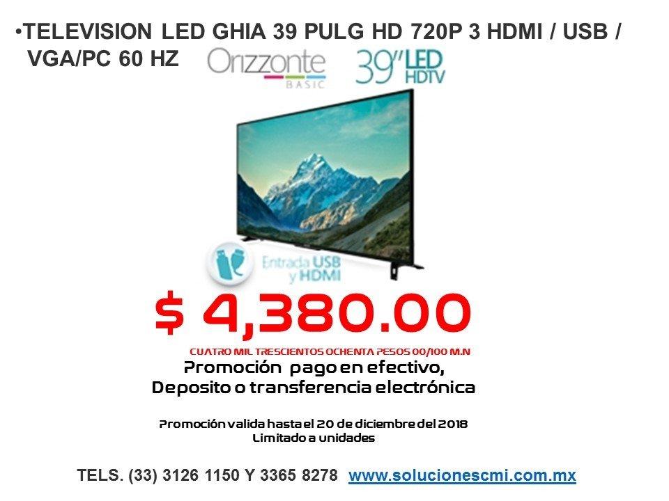 TELEVISION LED GHIA 39 PG
