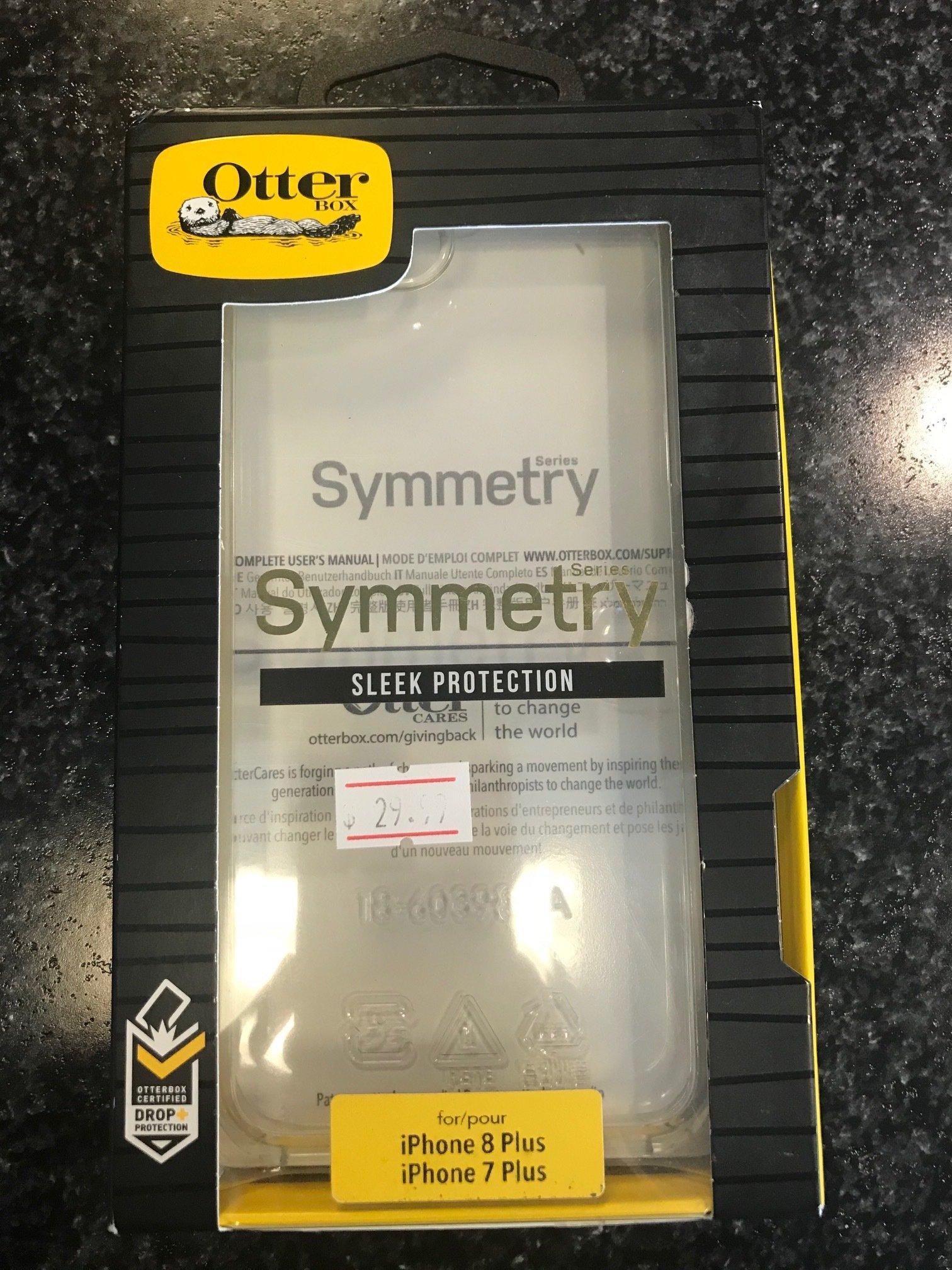 Otter Box Symmetry Case for iPhone 7 plus or iPhone 8 plus Symmetry 7/8 plus