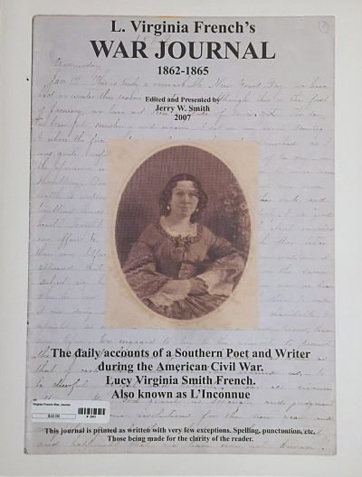 L. Virginia French's War Journal 00001