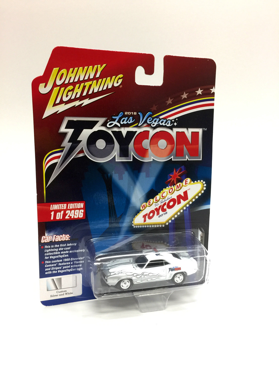 Johnny Lightning 1st ever VegasToyCon Exclusive 1969 Camaro 00045