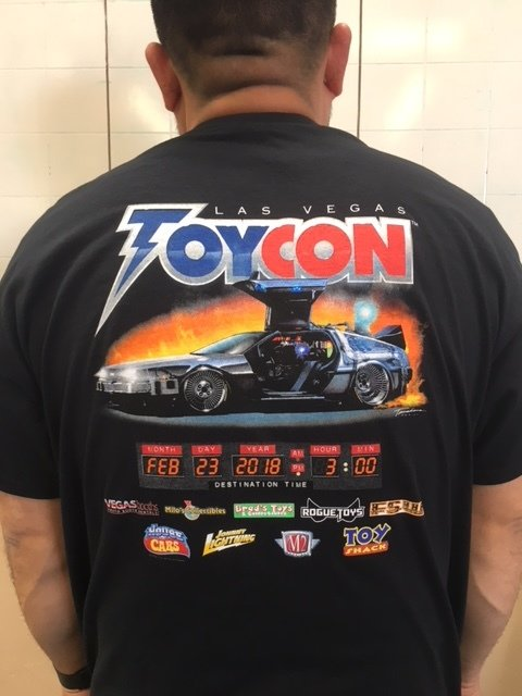 Official Convention Tshirt Back to the Future Design - XXX Large 00053