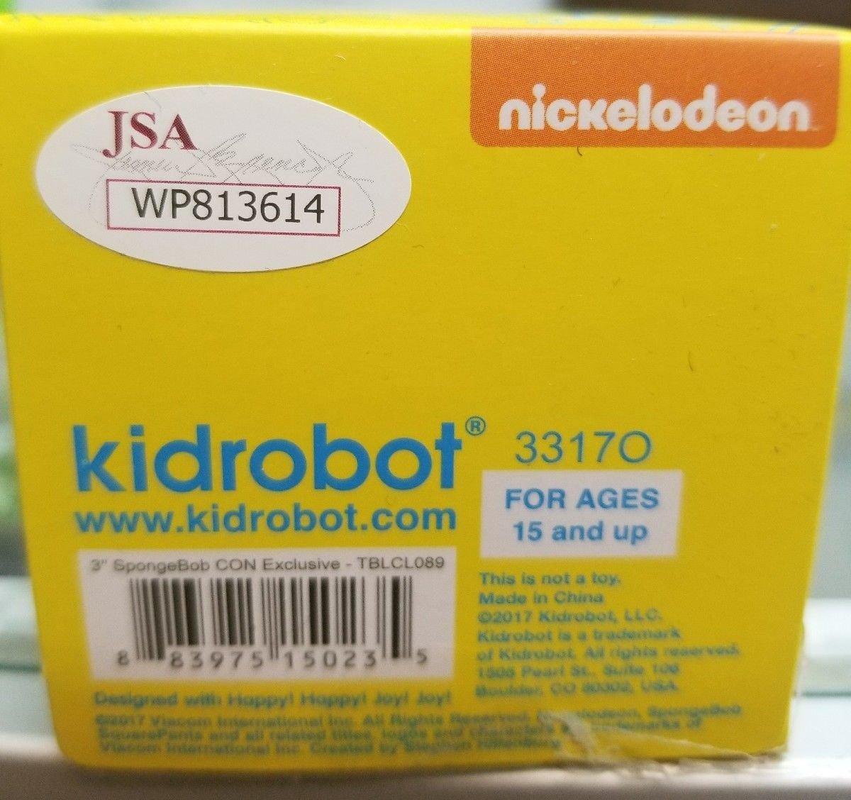 Spongebob Autographed Vinyl