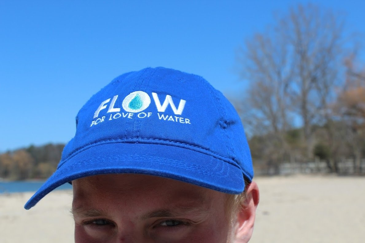 Blue FLOW Baseball Cap 00006