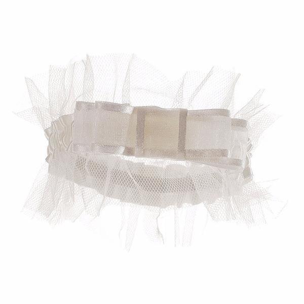 Wedding Garter Symbolism: Tulle Bridal Garter
