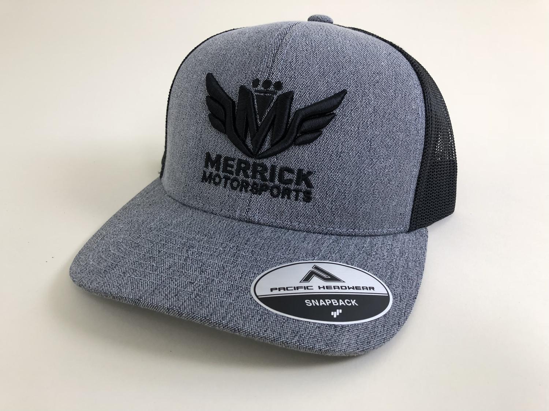 1e798a424e2e6 Merrick Motorsports Fitted   Snapback Hats