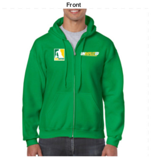 TWIL Undefeated* Hoody (Green) 00002