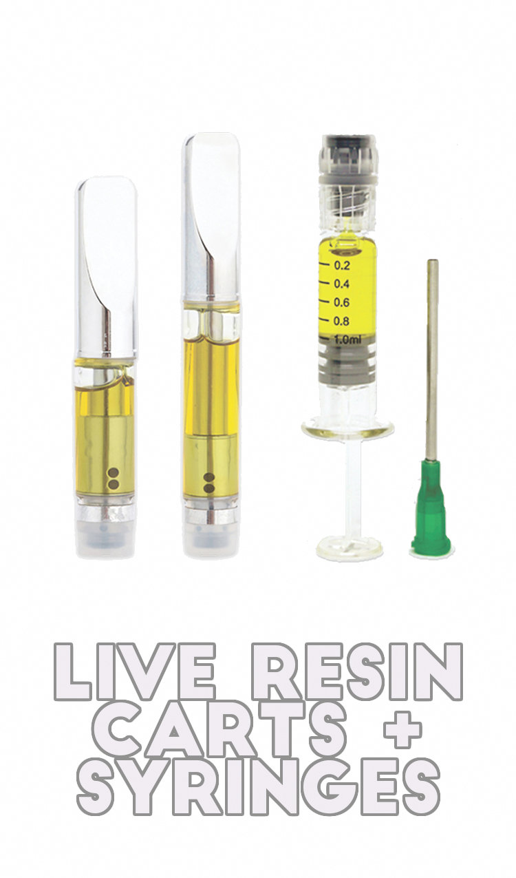 LIVE RESIN CARTS AND REFILLS